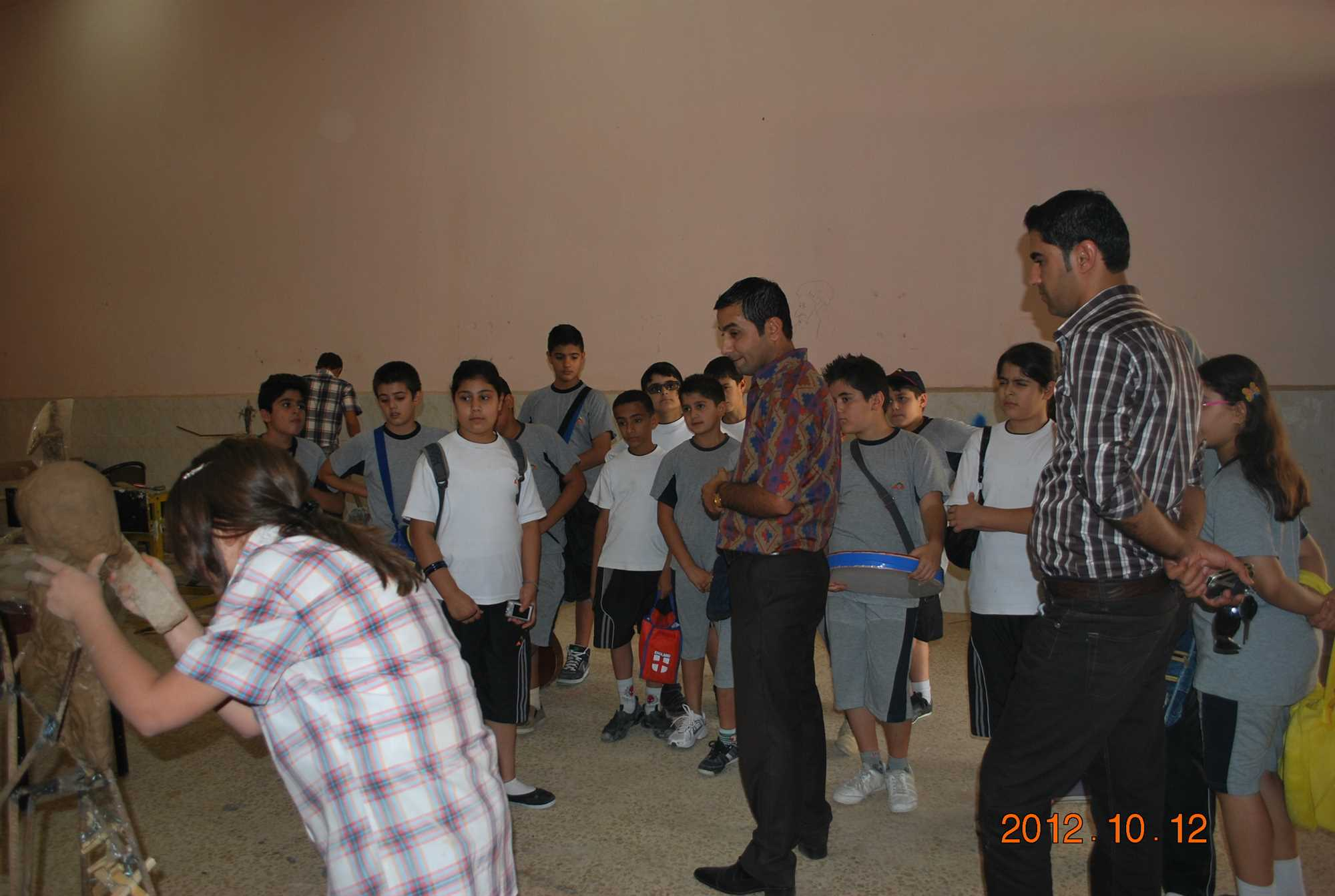 Grade 6 Visits Duhok Art and Music Institute