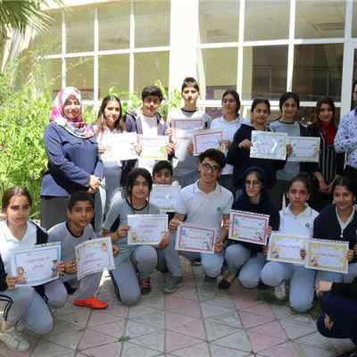 FMIS STUDENTS RECEIVE PERFORMANCE CERTIFICATES FOR THE KURDISH LANGUAGE