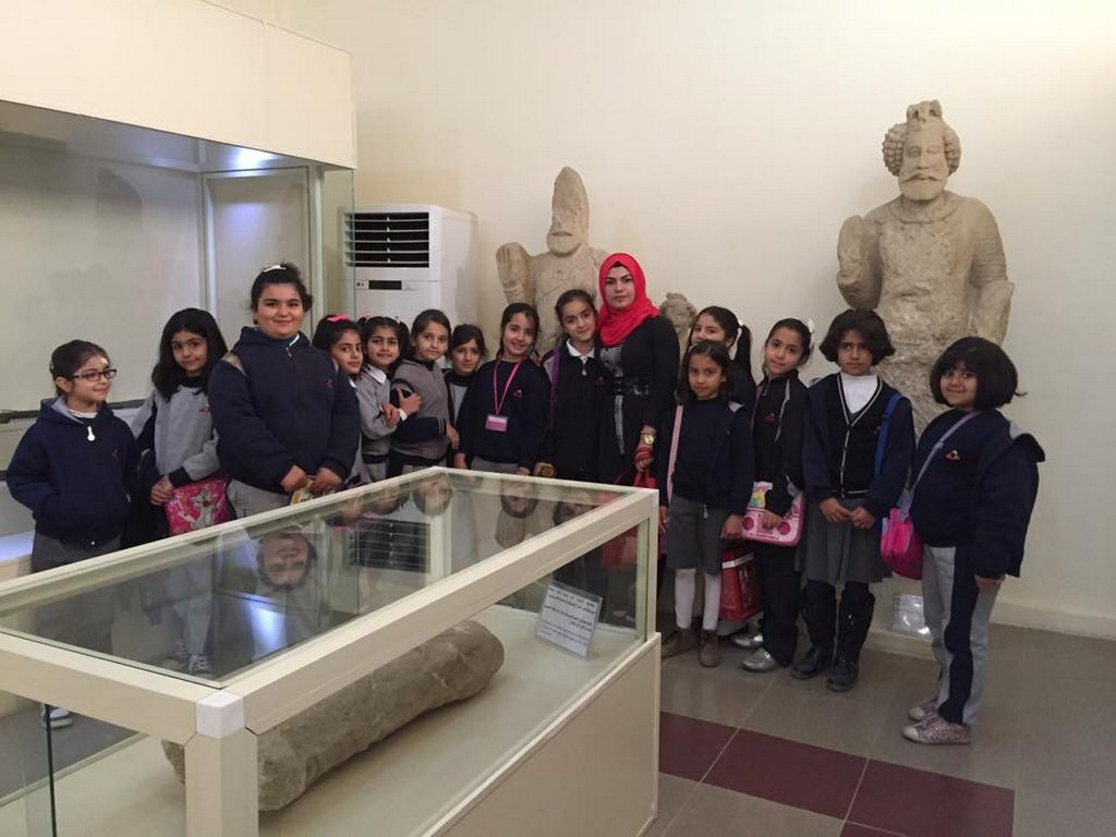 Fakhir 3rd Graders Tour Erbil Civilization Museum