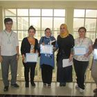 Grade 9 Gives Appreciation Certificates to Staff at FMIS