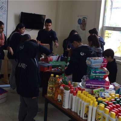 FMIS Students Raise Necessities for Families in Need