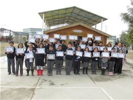 Fakhir Mergasori Students Recognized for Good Behavior