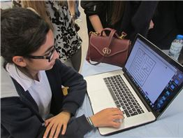 FMIS Grade 8 Students Learn How to Code on Computers