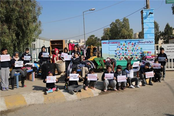 FMIS Students Organize Drive for the Less Fortunate