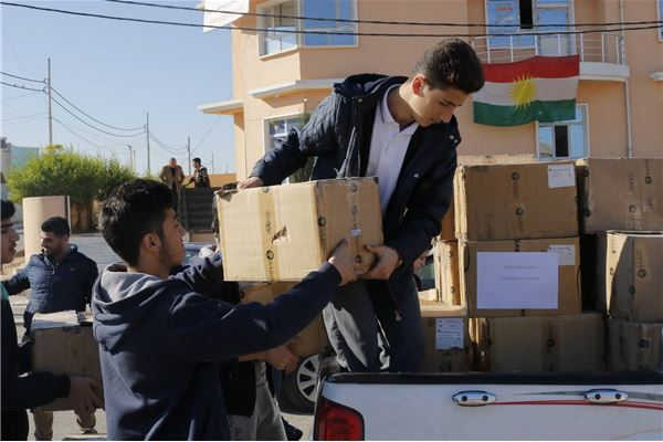 Students at FMIS Donate to IDPs in Kurdistan