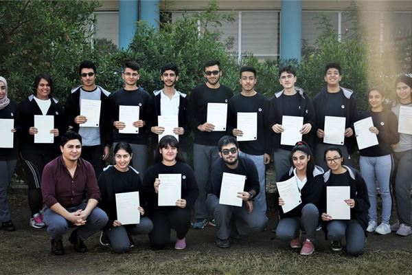 GRADE 10 STUDENTS AT FMIS TAKE IGCSE EXAM