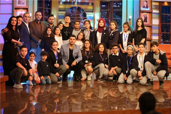 FMIS STUDENTS VISIT NET TV