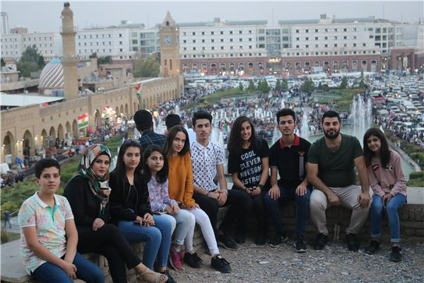 FMIS STUDENTS DISCOVER THE ERBIL CITADEL