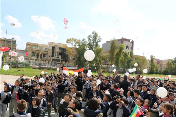 FMIS STUDENTS CELEBRATE LIBERATION DAY